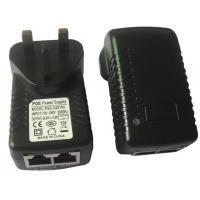 Buy cheap US / UK AC Plug Wall Mount Poe Power Adapter 15V 1A 15W EN 61347-2-13 product