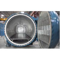 Quality Composite curing autoclave with world class engineering and unique system design for sale