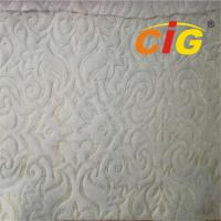 Buy cheap 2019 new design home textile 100% Polyester  Knitted Mattress Ticking Fabric wholesale 200GSM to 450GSM from wholesalers