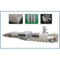 Buy cheap PVC foam board extrusion line from wholesalers