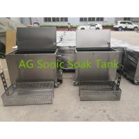 Buy cheap Mobile Heated Fast Food Stainless Steel Soak Tank Chemical With Heater 2KW from wholesalers