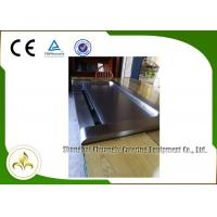 Buy cheap Down Fume Exhaustion Front Air Supply  Sunken Air Inlet Rectangle Electric Teppanyaki Grill Table 7 Seats from wholesalers