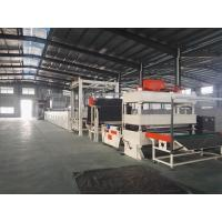 Carpet Tile Bitumen Production Line Or Continuous Operation Separate Cutting Control