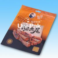 Buy cheap Eco-Friendly Plastic Snack Food Packaging Bags With Reusable Zipper from wholesalers