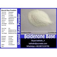 Buy cheap Hormone Raw Powder Boldenone Steroid Boldenone Base For Bodybuilding , CAS 846-48-0 from wholesalers