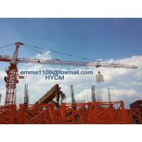 Buy cheap QTZ5015 8T Tower Crane 50m Lifting Jib 1.5t Tip Load 45m Free Height from wholesalers
