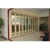 Buy cheap Double Aluminium French Folding Glass Door For Patio 5mm+16A+5mm from wholesalers