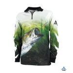 Buy cheap 100% Cotton Sublimated Fishing Jerseys Kids Fishing ShirtsMoisture - Wicking from wholesalers