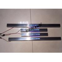 Buy cheap 2015 L200 Triton 4x4 Body Kits / Stainless Steel LED Door Scuff Plate from wholesalers