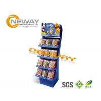 Professional Popular Pop Up Cardboard Display Stands 5 layers