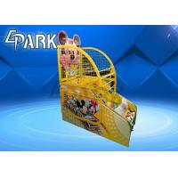 Buy cheap Attractive Cartoon Kids Arcade Basketball Game Machine 12 Months Warranty from wholesalers