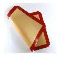Buy cheap reusable silicone baking mat ,hot selling fiberglass silicon baking pad from wholesalers