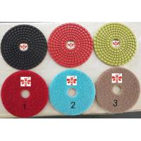 Buy cheap 3 Step 4 Inch  Angle Grinder  Concrete Polishing Pads  Orbital Sander Colorful from wholesalers
