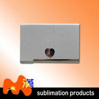 Buy cheap Silver Personalized Business Card Holder For Desk / Metal Unique Business Card Holders from wholesalers