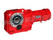 Buy cheap K37 spiral bevel gear reducer/Helical Geeared Motor-Wuhan SUPROR Transmission from wholesalers