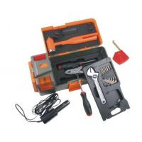 Buy cheap 15 pcs tool set ,with adjustable wrench,emergency hammer ,car light adapter from wholesalers