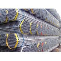 Buy cheap Pre - Galvanized Metal Scaffold Pipe High Strength Threaded Scaffold Tube product