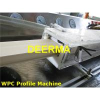 Buy cheap 180mm / 240mm Wood Plastic Extrusion Line For Door Frame Profiles / Architrave from wholesalers