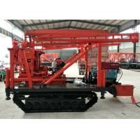Buy cheap XY-200 Hydraulic Crawler Mounted Drill Rig For Stone Bore Hole CE Certification from wholesalers