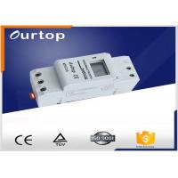 Buy cheap Din Rail Programmable Electronic Timer Switch , On Off Timer Switch North 1 ~ 66 º South 1 ~ 66 º from wholesalers