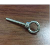 Buy cheap M3 M4 M5 M6 Stainless Steel Bolt , Lifting Stainless Steel Eye Bolts With High Precise from wholesalers