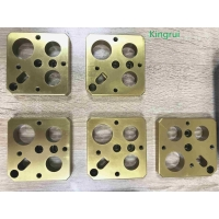 Buy cheap Milling Injection Mold Making Components VANADIS 23 Coating TiN from wholesalers