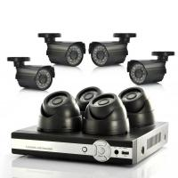 Buy cheap 4 CH 520 TV lines CCTV DVR Surveillance System , Standalone DVR With 10 LCD Monitor from wholesalers
