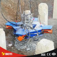 Buy cheap BEIYI brand CE approved backhoe Professional hydraulic concrete square pile breaker factory from wholesalers