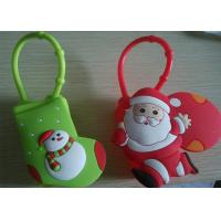 Buy cheap 3D Logo Protable Silicone Hand Sanitizer Holder Of Capacity 30ML from wholesalers