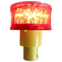 Buy cheap High bright solar flash light for traffic cone from wholesalers
