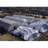 Buy cheap Festival Blue Sealed Giant Inflatable Event Tent Rentals , WaterProof from wholesalers