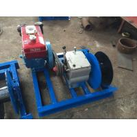 Buy cheap 80 KN Industrial Electric Winch 8 Ton Cable Puller With Steel / Nylon Rope from wholesalers