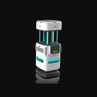 Buy cheap Lithium Battery 30Ah Polyurethane Disinfection Robot For Home Schedule product