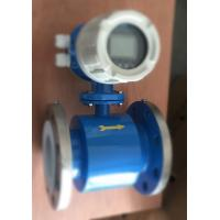Buy cheap Electromagnetic Type Flow Meter / Stainless Steel Flow Meter For foreign Lanuage product