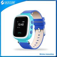Buy cheap Popular blue LBS location tracking smart watch with SOS emergency calling for kids product