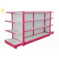Buy cheap Cold Rolled Steel Gondola Retail Display Shelving 1200x400x1600mm Dimension from wholesalers
