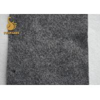 Buy cheap 4m Anti Slip Felt Backing Gray Flower Dot Type PVC Black Needle Punched Felt from wholesalers