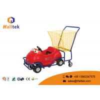 Buy cheap Kids Child Small Supermarket Shopping Trolley Cartoon Stable Funny Design from wholesalers