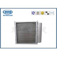 Industrial Boiler Air Preheater Enameled Tubes , Tubular Type Air Preheater High Pressure