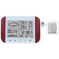 Buy cheap Wireless Weather Station With Forecast Temperature Humidity  Alarm and Snooze Thermometer Hygrometer Clock MS6145 from wholesalers