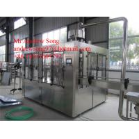 Buy cheap High precision automatic bottle filling capping and water bottle labeling machine from wholesalers