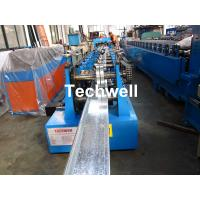 Buy cheap C Z U M Shaped  Purlin Roll Forming Machine With Hydraulic Punching and Cutting from wholesalers