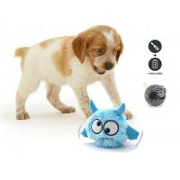 Buy cheap Blue Crazy Jumping Moving Battery Operated Squeaky Dog Ball For Pet Play from wholesalers