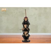Buy cheap Toilet Paper Holder Antique Polyresin Statue Figurine Decorative Resin Monkey Sculpture from wholesalers