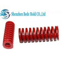 Buy cheap Red Heavy Load Mold Spring For Metal Die Casting Dies / Plastic Molds from wholesalers