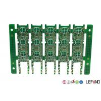 Buy cheap Rigid Multilayer PCB Fabrication , Industrial Circuit Board Green Solder Mask product