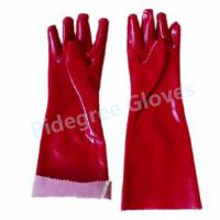 Buy cheap Long Sleeve PVC Household Gloves With Smooth Surface For Dish Washing from wholesalers