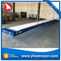 Buy cheap Hydraulic Lift Telescopic Conveyor Belt Table from wholesalers