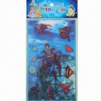 Buy cheap Lenticular Stickers, Eco-friendly and Non-toxic, OEM and ODM Orders are Welcome product