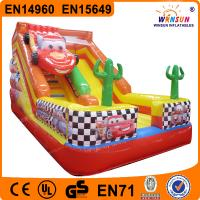 Buy cheap Popular Commercial cheap giant Inflatable Slide from wholesalers